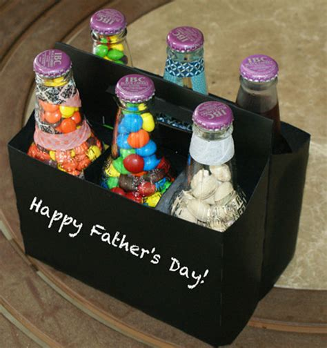 Handmade Fathers Day Gifts - diy s day gift six pack of treats for
