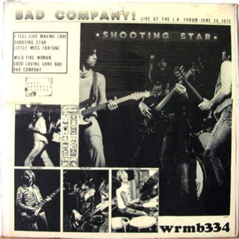 bad company shooting bad company the amazing kornyfone label