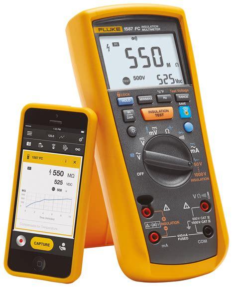 Multitester Fluke 1587 fluke 1587 fc fluke 1587 194 fc insulation multimeter at reichelt elektronik