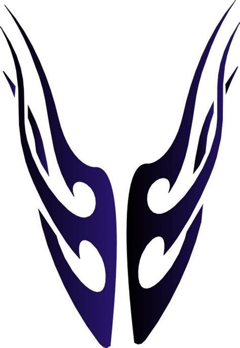 airbrush tattoo stencil tribal flame ebay