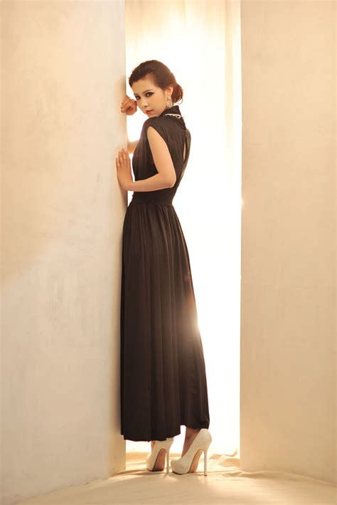 Dress Model Pesta Black Yellow New Fashion Impor dress dress wanita model terbaru jual murah 17 best