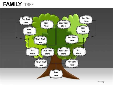 Family Tree Template Family Tree Templates Editable Free Family Tree Powerpoint Template