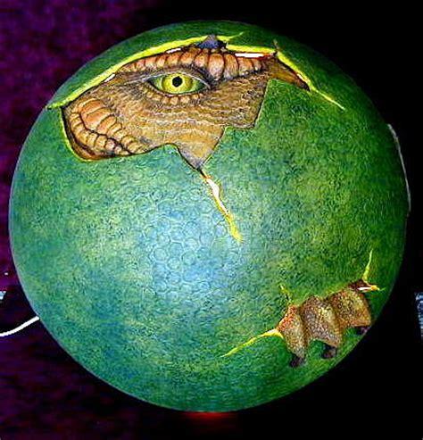 dragon egg sculpture by tim joyner