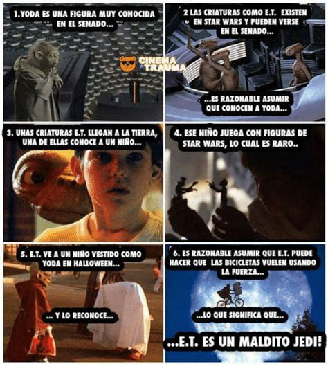 Et Is A Jedi Meme - 2 las criaturas como et eisten 1yoda es una figura muy