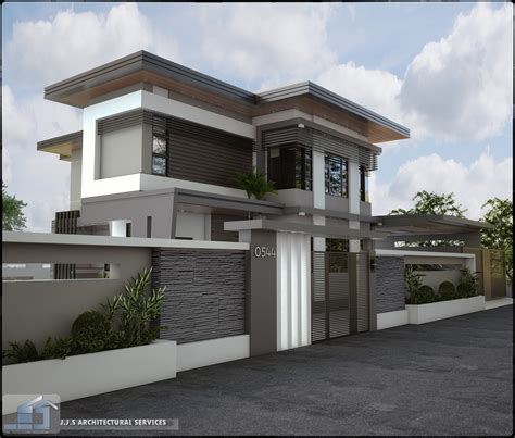 house designed orani bataan 2 storey residential house home design