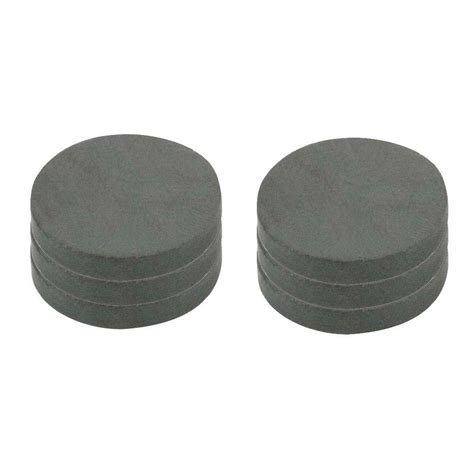 Magnet Black by Master Magnetics 1 In Dia Black Disc Magnet 6 Per Pack
