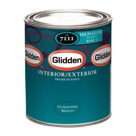 High Gloss Interior Paint by Glidden Premium 1 Qt High Gloss White Interior