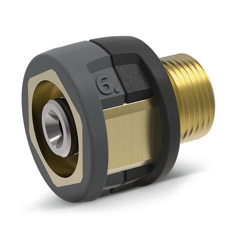 Adaptor Nosel 1 5 In adapter 6 easy lock 22 ig m22 x 1 5 ag k 228 rcher