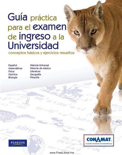 examen de admision a la universidad publicaciones anuies gu 237 a pr 225 ctica para el examen de ingreso a la universidad