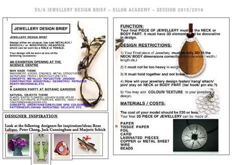 design brief jewellery 136 best images about art design n6 new higher on