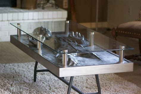 han in carbonite coffee table custom commission