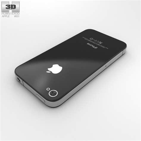 apple iphone 4 3d model hum3d