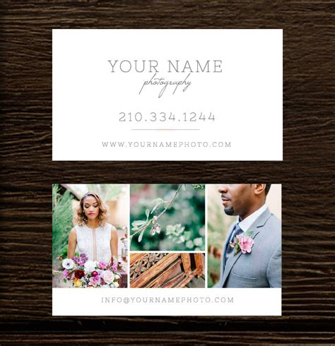 photography business card template photoshop photography business cards digital photoshop template for