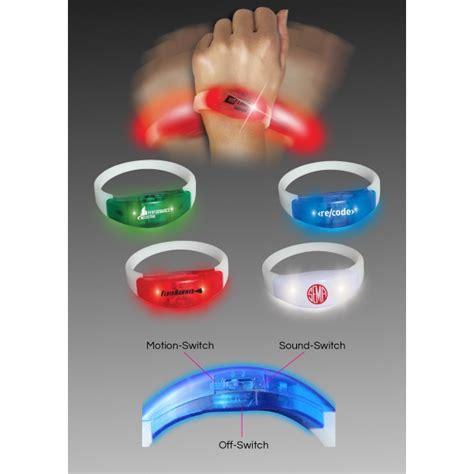 Led Bracelet With Sound And Motion Sensor motion activated 10 led sensor light goimprints