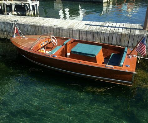 chris craft aluminum boats for sale vintage aluminum runabout boats bing images