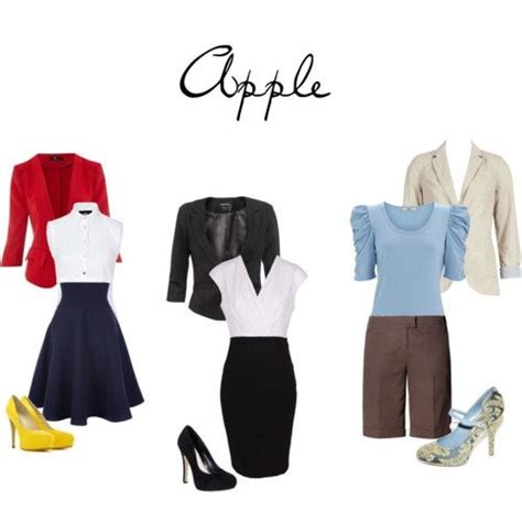 Staple Items To Suit And Apple Figure by 25 Best Ideas About Apple Shape On
