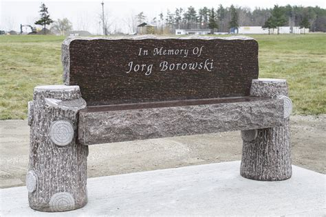cremation memorial benches cremation memorials kellogg memorials