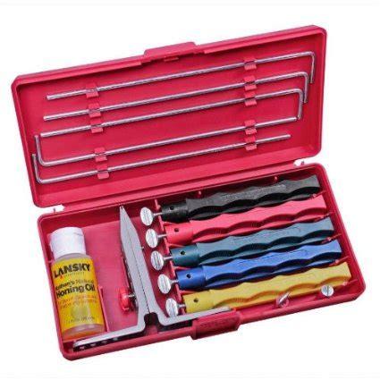 knife sharpening system reviews lansky deluxe 5 sharpening system review knifeista