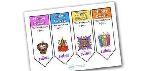 printable bookmarks twinkl twinkl resources gt gt editable diwali bookmarks gt gt classroom