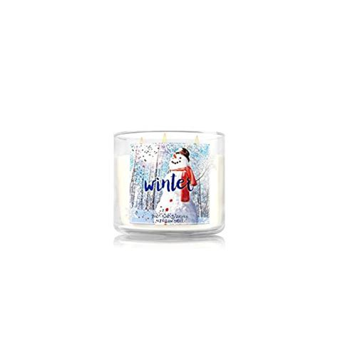 Bath Works Xoxoxo 3 Wick Scented Candle bath works home winter scented candle 3 wick 14 5