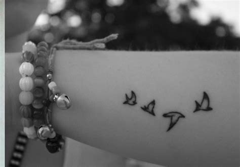 25 lively small bird tattoos creativefan