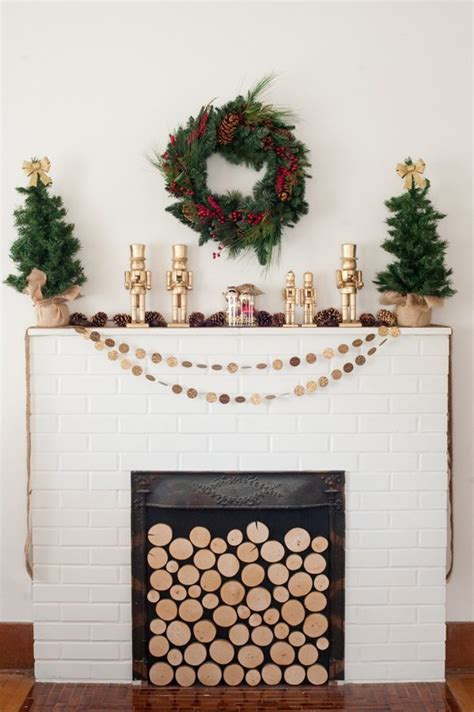 fireplace nutcracker 35 amazing mantels