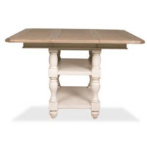 riverside 32554 coventry two tone counter height dining table