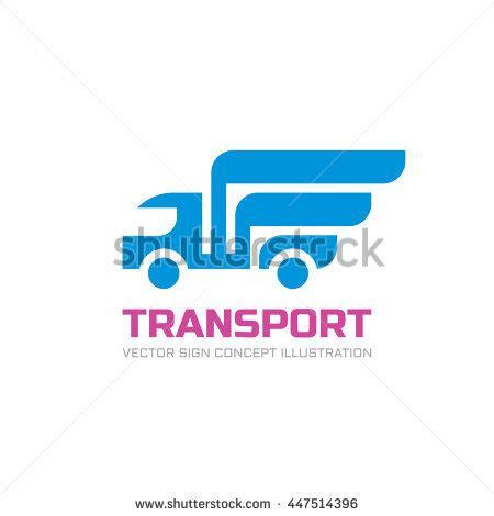 Transport Vector Logo Template Abstract Car Stock Vector 454198642 Shutterstock Transport Logo Templates
