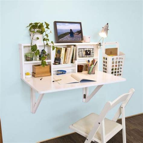 bureau pliant mural le bureau pliable est fait pour faciliter votre vie