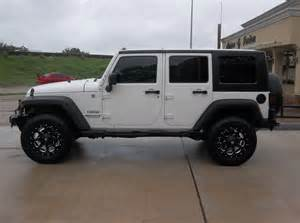 jeep white with black rims autos post