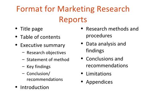 market research report template market research report format atheist experience 20 51