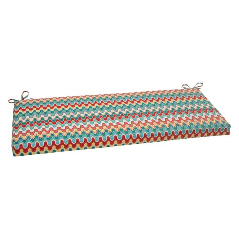 45 bench cushion pillow perfect nivala blue 45 in bench cushion outdoor