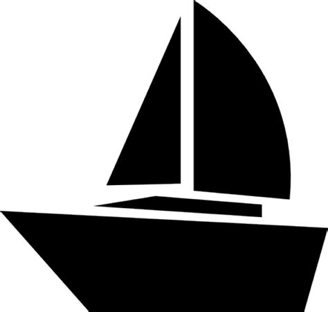 zeilboot abonnement zeilboot iconen gratis download