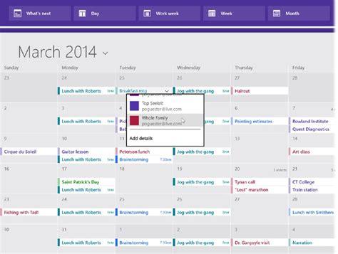 Calendar App For Windows Simple Calendar App For Windows 8 1 Calendar