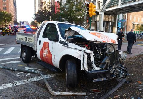 pledging terrorist kills 8 in lower manhattan truck