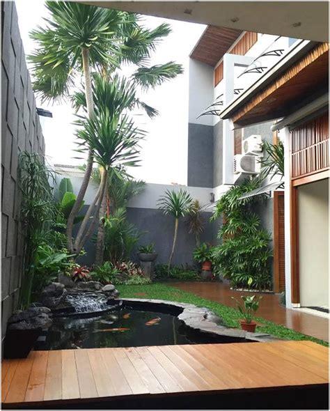 desain taman depan rumah unik unik taman depan rumah minimalis sederhana modern lahan