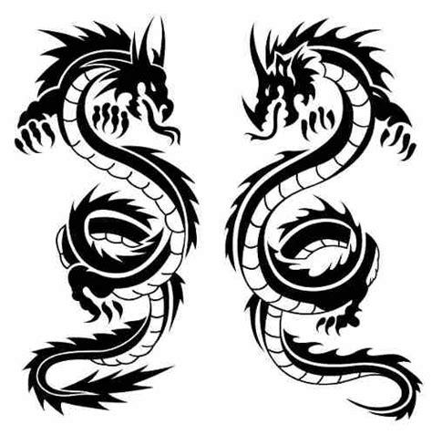 imagenes vectores tribales vectores de dragones vectores tribales vector de