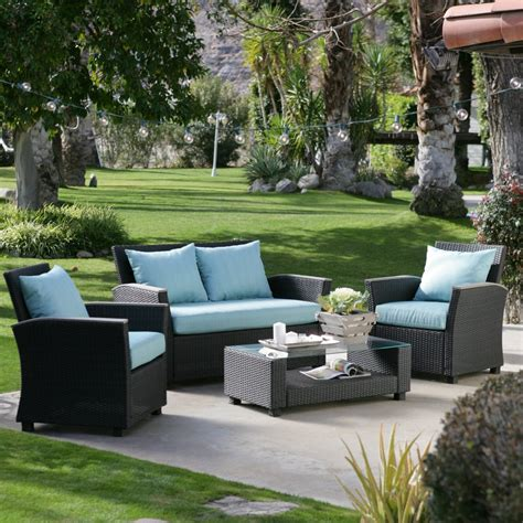 patio decor conversation patio sets for comfortable house the latest