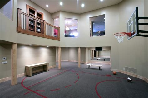 10 basement basketball court ideas 5 the most cool and wacky basements ever digsdigs