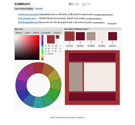 online color palette maker colorschemer online color scheme generator rachael edwards