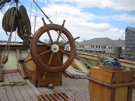 boat steering wheel base free photo boat ship wheel deck free image on