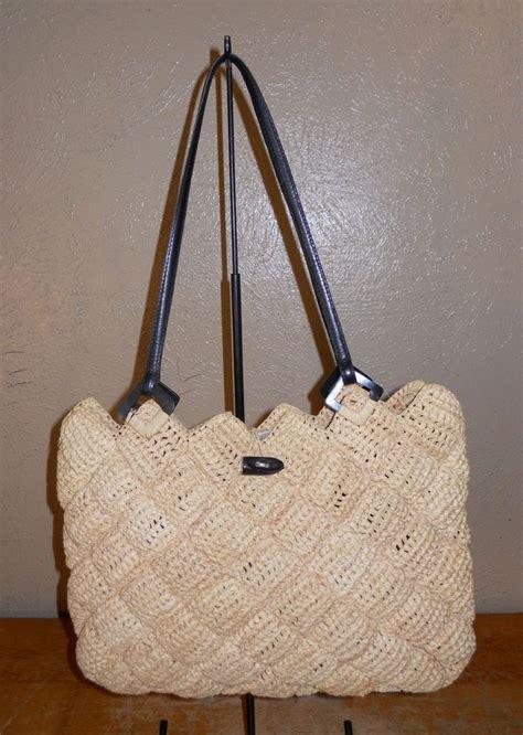tote bag pattern australia annabel ingall australia raffia purse tote quilted diamond