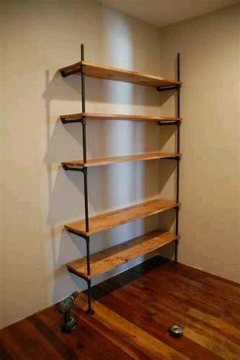 shelves black and beautiful on