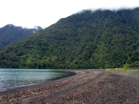 volcanic beach volcanic beach petrohue 100k photos