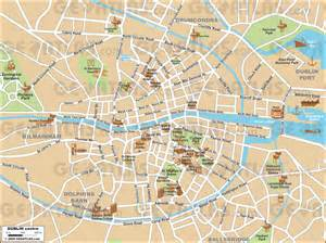 dublin map dublin map pdf images
