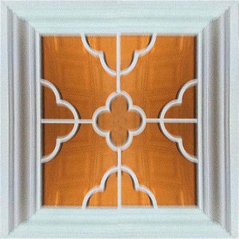 Indoor Ceiling Tiles Aluminum Framed Mirror Artistic Ceiling Tiles 3 D