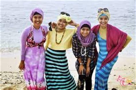 Baju Untuk Ke Pantai 15 model baju muslim untuk ke pantai trendy terbaru 2017 keren bnews berita news