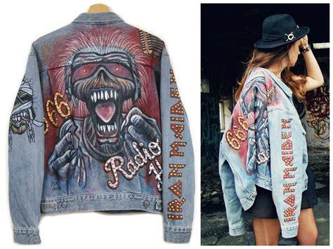 ksubi denim jacket ebay painted iron maiden jacket denim jacket