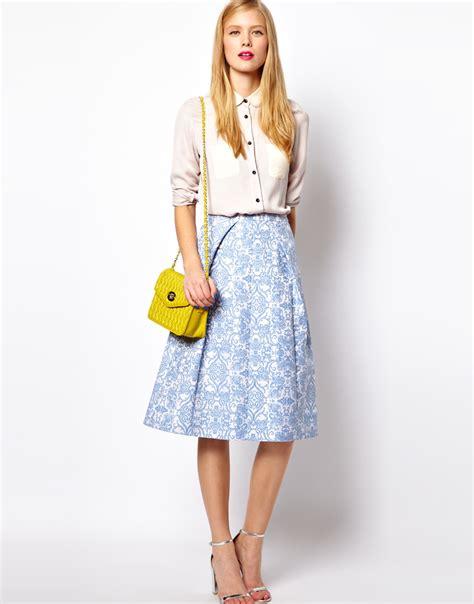 brainy mademoiselle midi skirt