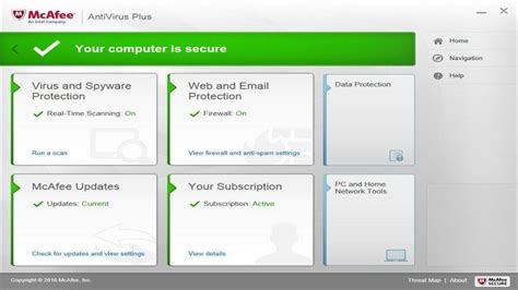Mcafee Antivirus Plus mcafee antivirus 9 version with key for windows 8